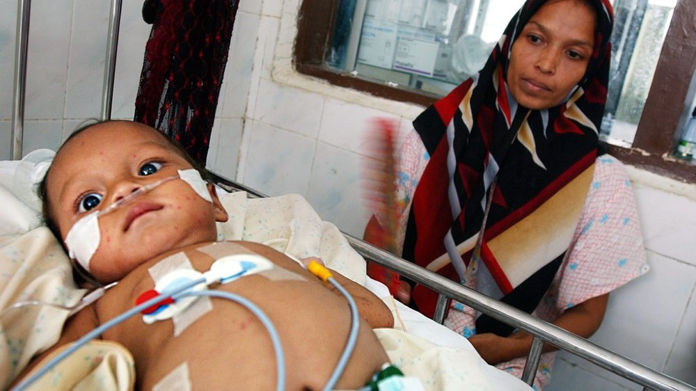 Epidémie: la pneumonie tue un enfant de moins de 5 ans toutes les 39 secondes