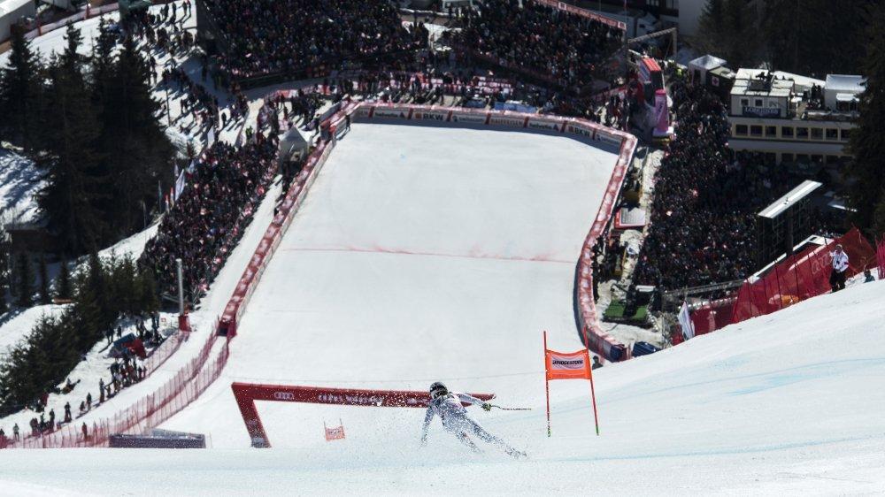 Les épreuves féminines de Crans-Montana réunissent chaque année des milliers de spectateurs.