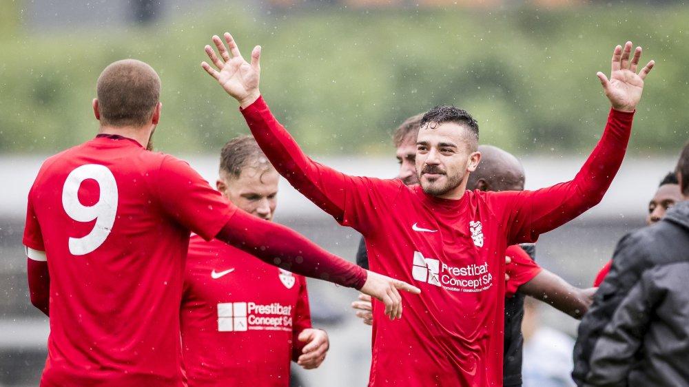Le FC Vouvry a été promu en 3e ligue en juin dernier.