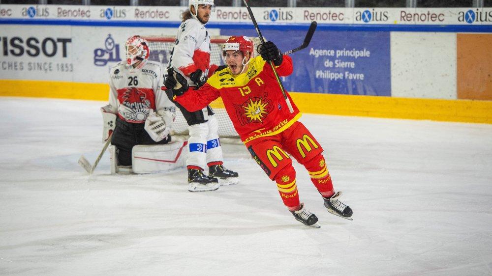Thomas Heinimann et le HC Sierre ont déjà fait trébucher Viège à deux reprises, cette saison.