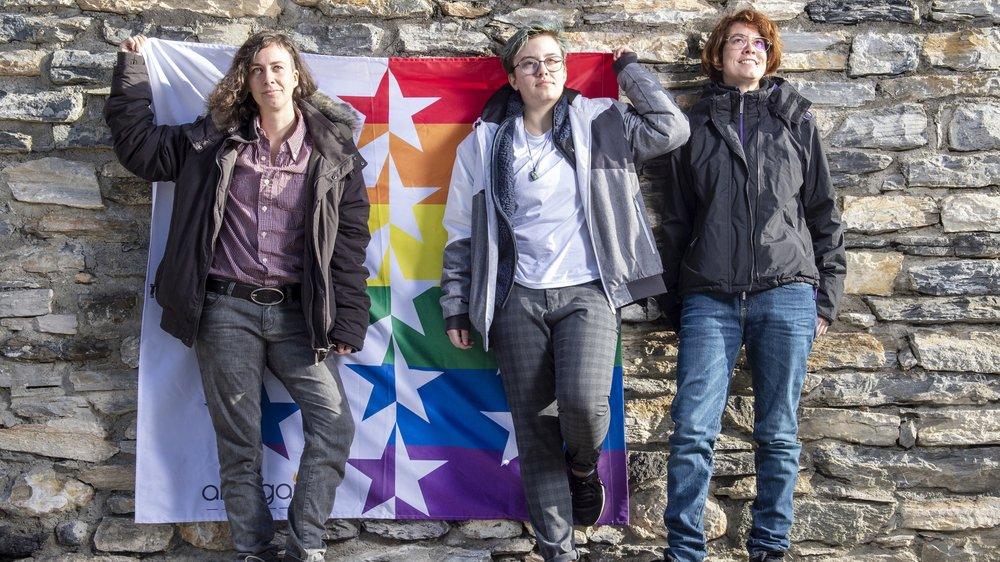 Charlie Crettenand, Maël* Bonvin et Audrey Gaspari font partie des onze Valaisans qui témoignent de leurs différences dans le film.