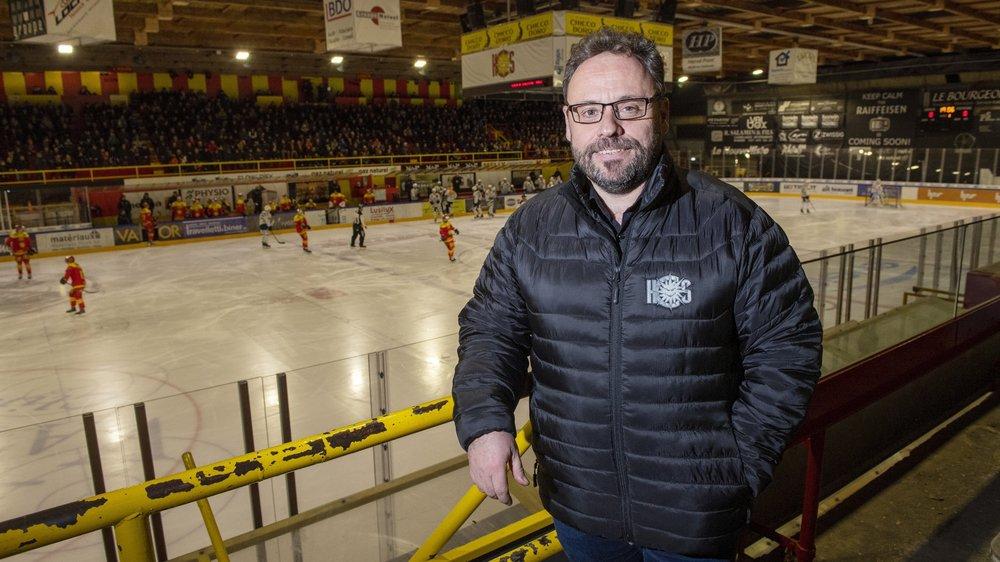 Christophe Fellay baigne dans le monde du hockey, du HC Sierre en particulier, depuis qu'il est tout petit.