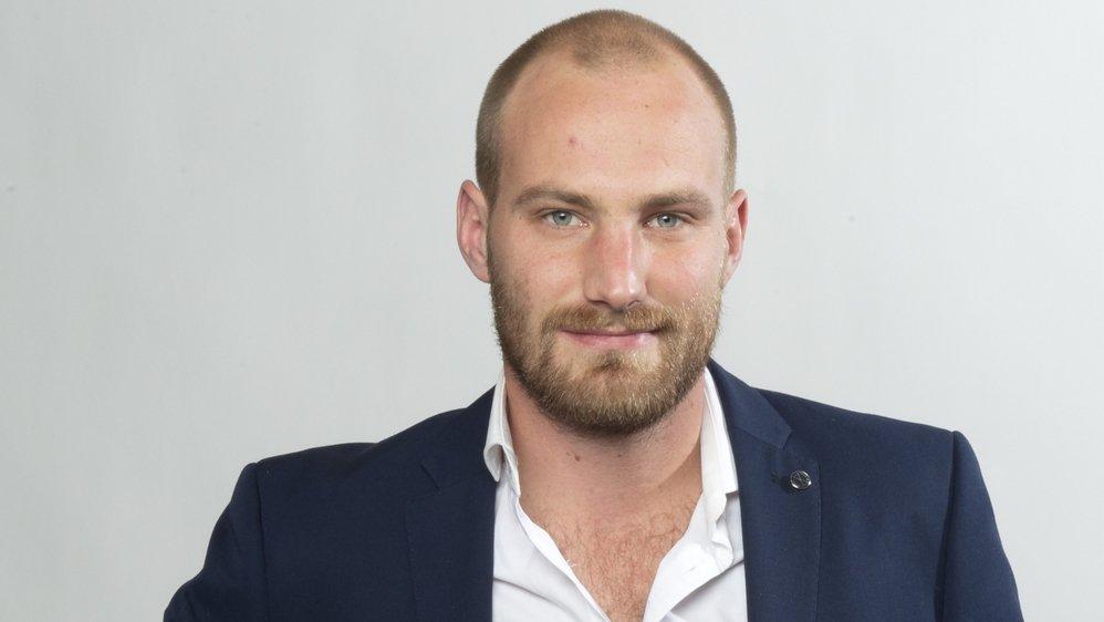 Dimitri Mathey, journaliste au Nouvelliste.