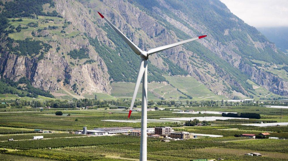 A Charrat, ValEole souhaiterait ériger deux éoliennes supplémentaires.
