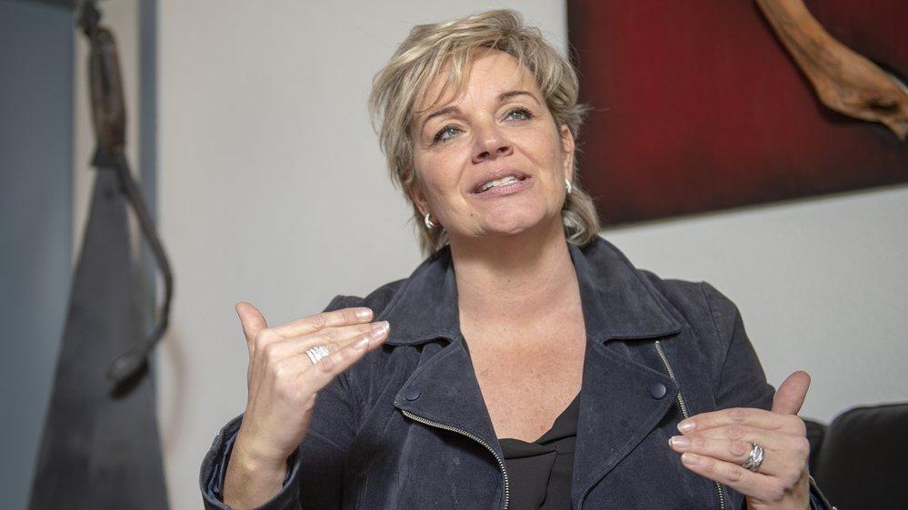 Géraldine Marchand-Balet aura passé 18 ans au sein de l'exécutif de Grimisuat.