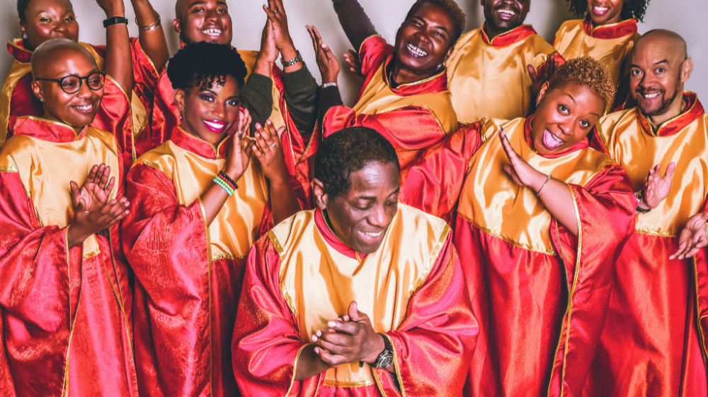 """""""The Golden Voices of Gospel"""" ouvriront les feux du 15e festival d'art sacré dimanche à Sion."""