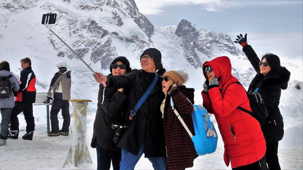 La population asiatique représente un peu moins de 10% du marché hôtelier à Zermatt.