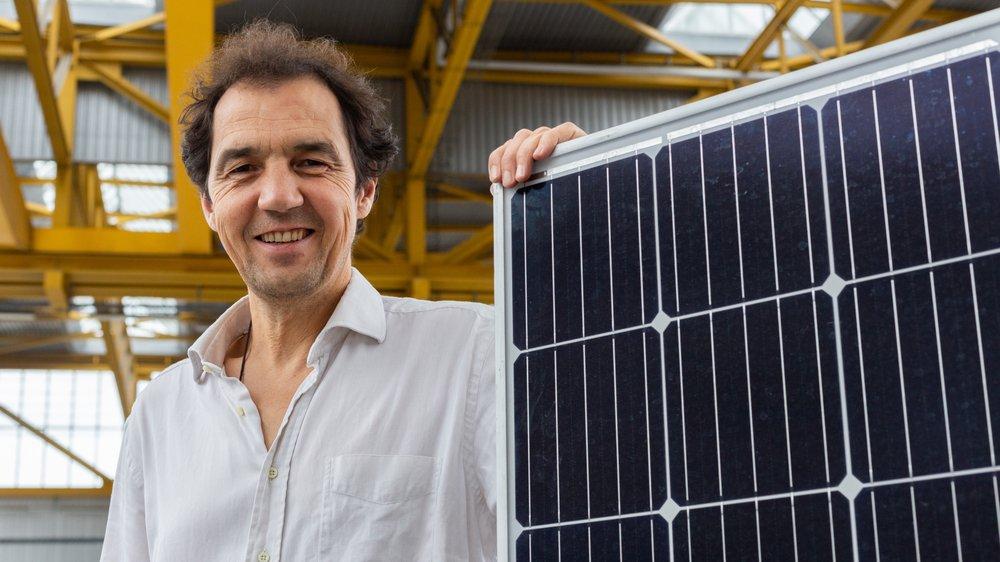 Jacques Bonvin, pionnier de l'énergie solaire, est aujourd'hui à la tête de Solstis SA, une société qui emploie 60 personnes.