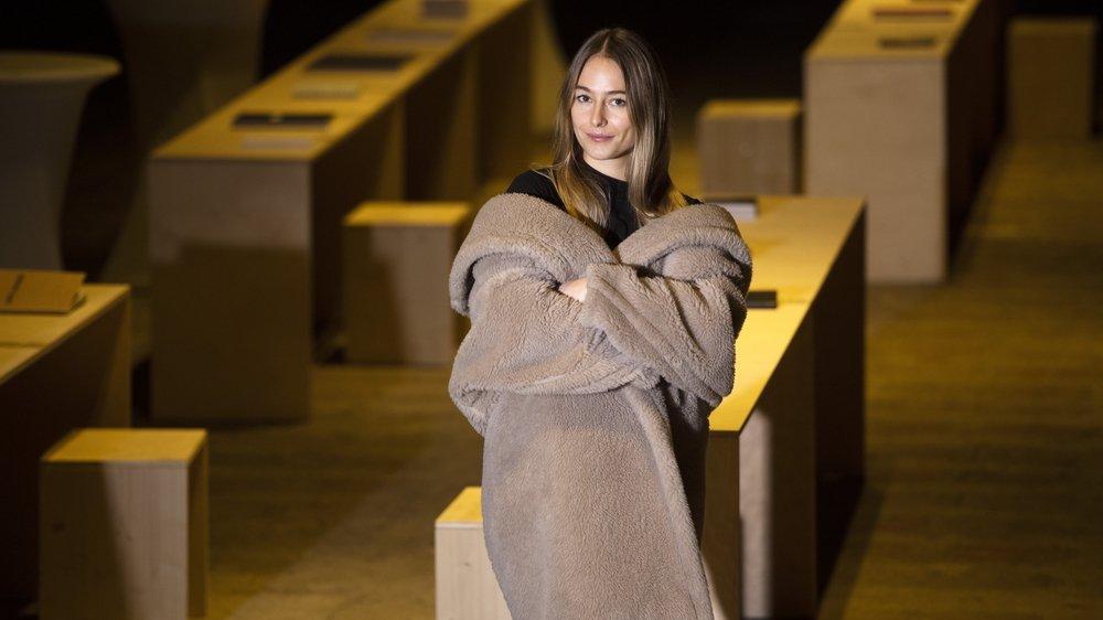 Louisa Gagliardi, avec son approche digitale de l'art pictural, a été récompensée cette année par la ville de Sion pour son travail et son parcours.