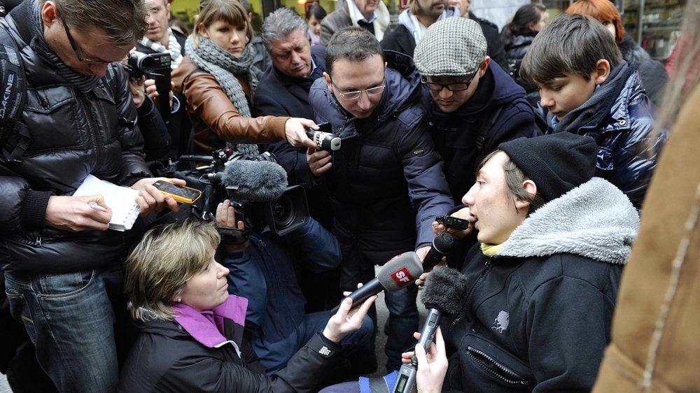 En Valais (notre photo), mais aussi en Suisse et en Italie, l'affaire Luca a été suivie par les médias et le public pendant des années.