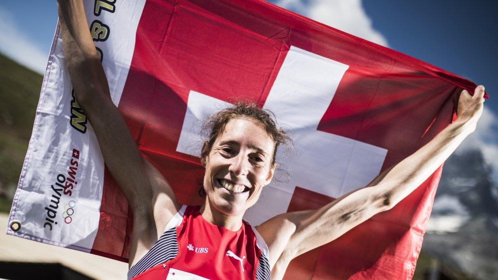 Maude Mathys entend bien déployer une nouvelle fois le drapeau suisse le plus haut possible.