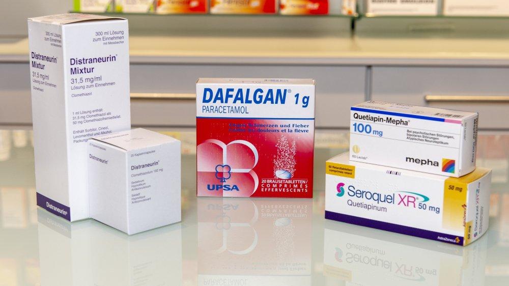 Trois médicaments, le Seroquel, la Distraneurin et le Dafalgan, figurent sur le podium des médicaments les plus attribués dans les homes du canton. Parmi eux, deux servent à calmer les résidents.