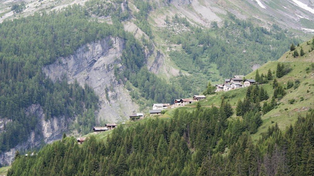 La région du Sanetsch a été l'épicentre de plus de 200 séismes en huit jours.