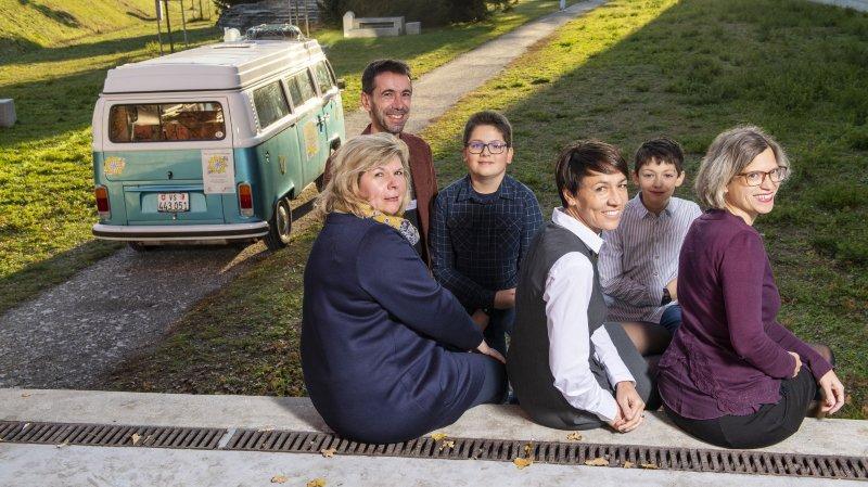 Sierre: la caravane des droits de l'enfant adresse une série de recommandations aux politiques