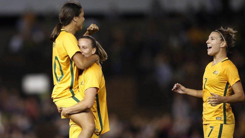 Australie: les footballeuses seront payées comme les hommes