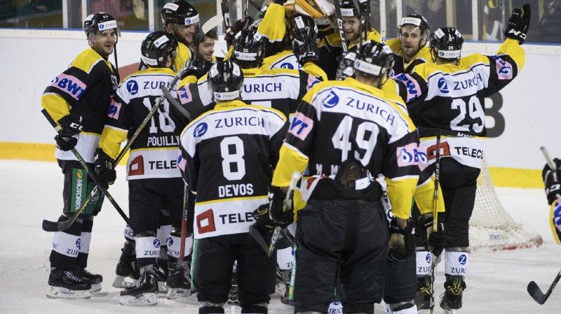 Devant plus de 2000 spectateurs, le leader de la Swiss League a battu 6-3 celui de la National League au terme d'un match presque à sens unique. (image d'archives)