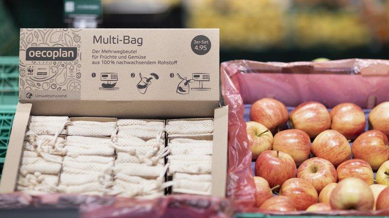 Déchets plastiques: les Suisses en manque de récipients réutilisables pour leurs achats