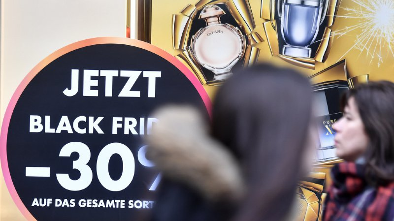 Black Friday: les Suisses devraient dépenser un total de 350 millions de francs