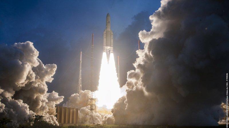 Espace: la fusée Ariane 5 fête son 250e lancement avec succès