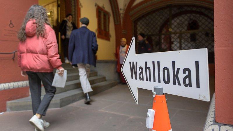 Les électeurs étaient appelés aux urnes dans trois cantons alémaniques, comme ici à Bâle-Ville.