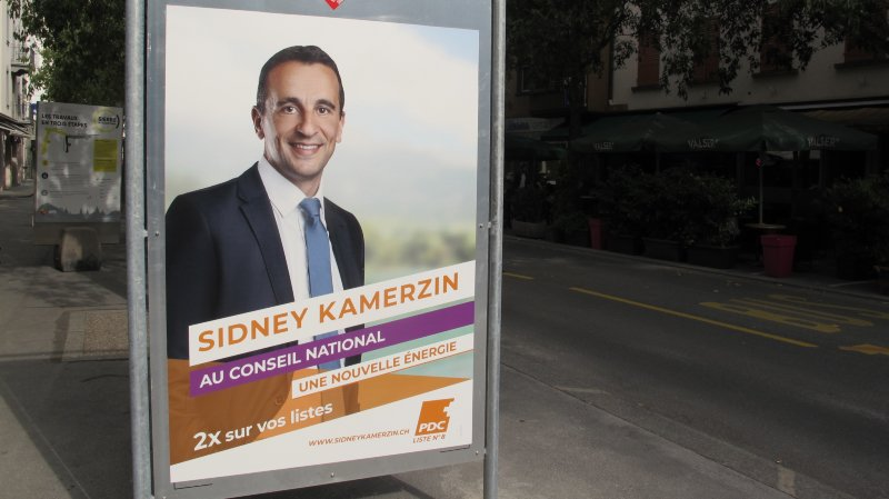 Au Conseil national, Sidney Kamerzin a fait le meilleur score de la liste PDC, une voix devant Benjamin Roduit.