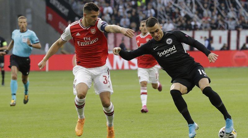 Football: Xhaka n'est plus le capitaine d'Arsenal
