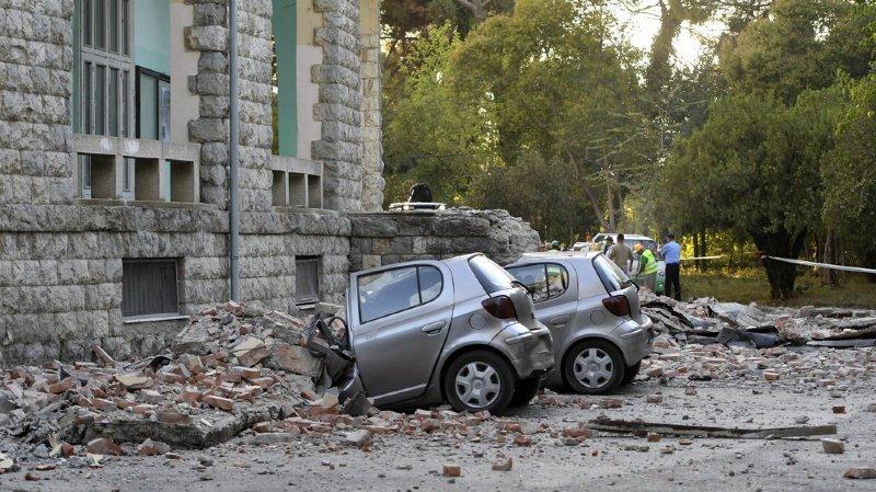Puissant séisme en Albanie, au moins un mort