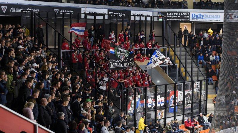 Hockey: 83 interdictions de patinoire contre des supporters violents de Fribourg-Gottéron