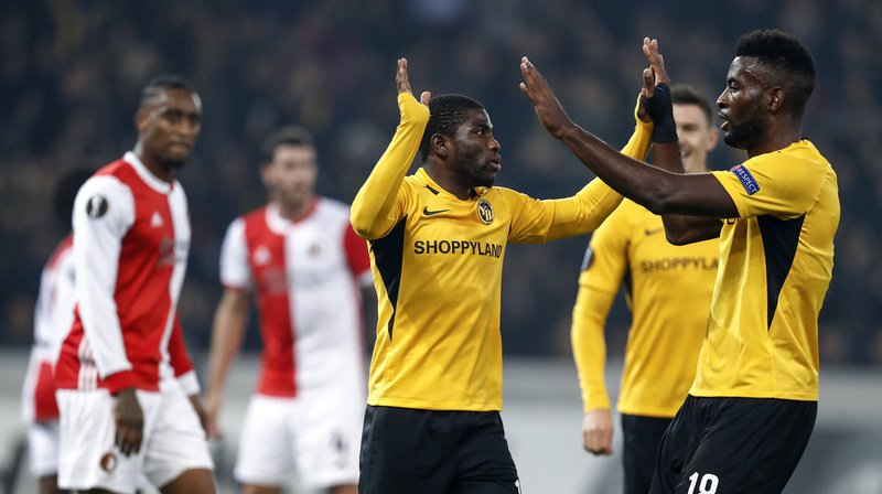 Football – Europa League: Young Boys bat Feyenoord Rotterdam 2-0