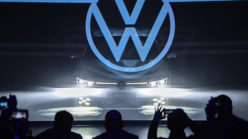 Le constructeur automobile Volkswagen veut concurrencer les américains en regroupant et développant ses activités autour de la conduite autonome. (Illustration)