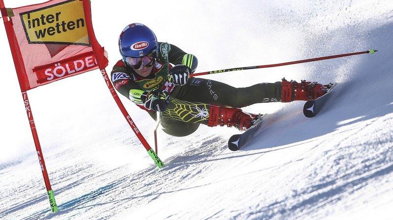 Ski alpin – Géant dames à Sölden: la 1ère manche pour Mikaela Shiffrin, les Suissesses à la peine