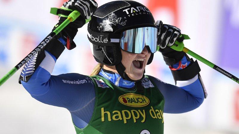 Ski alpin – géant dames de Sölden: la jeune Alice Robinson détrône Mikaela Shiffrin, deux Suissesses dans le top 10