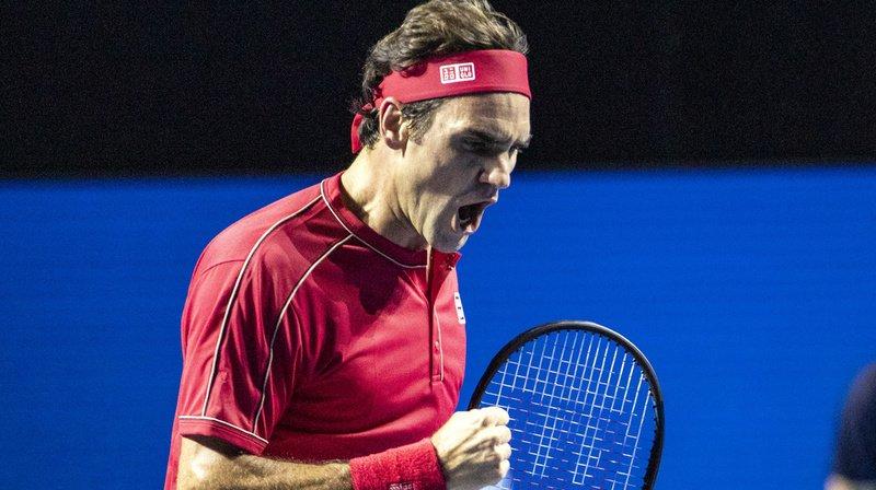Tennis: Federer remporte la finale des Swiss Indoors de Bâle pour la dixième fois!