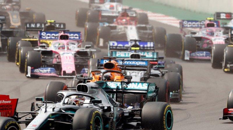 A trois courses de la fin, Lewis Hamilton compte 74 points d'avance sur Bottas.