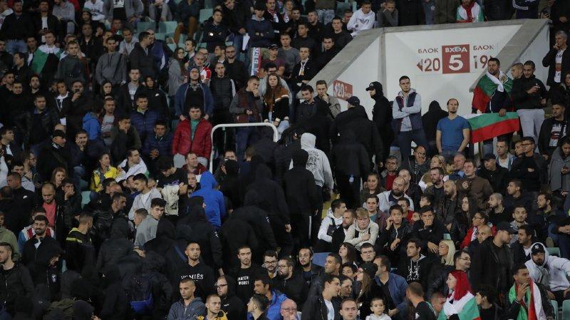 Football: la Bulgarie condamnée suite aux incidents racistes survenus lors du match face à l'Angleterre