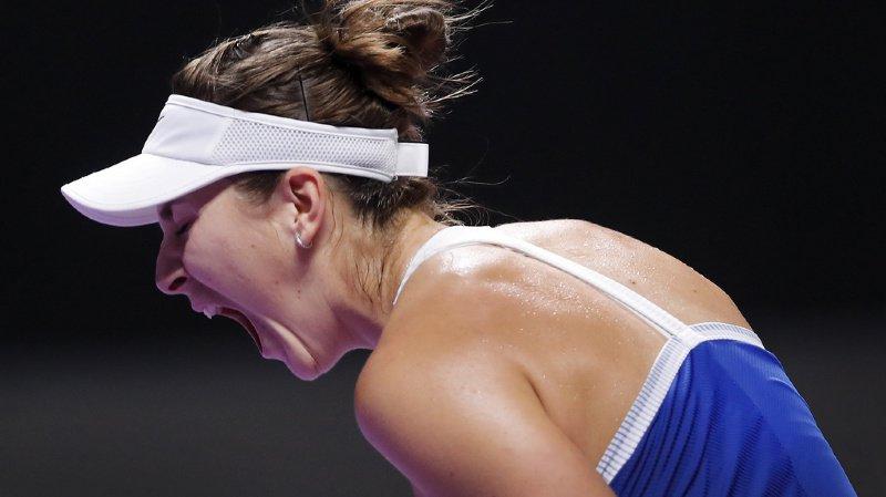 Tennis – Masters WTA: Belinda Bencic bat Petra Kvitova à Shenzhen