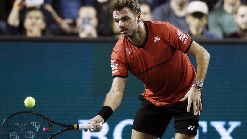 Tennis – Masters 1000 de Paris-Bercy: Stan Wawrinka se hisse en 8e de finale