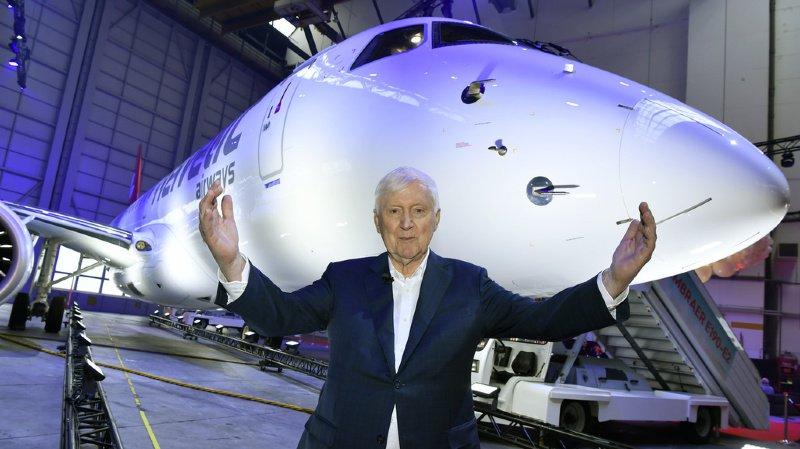 Trafic aérien: pour Martin Ebner, patron d'Helvetic Airways, le débat sur le climat est une «hystérie»