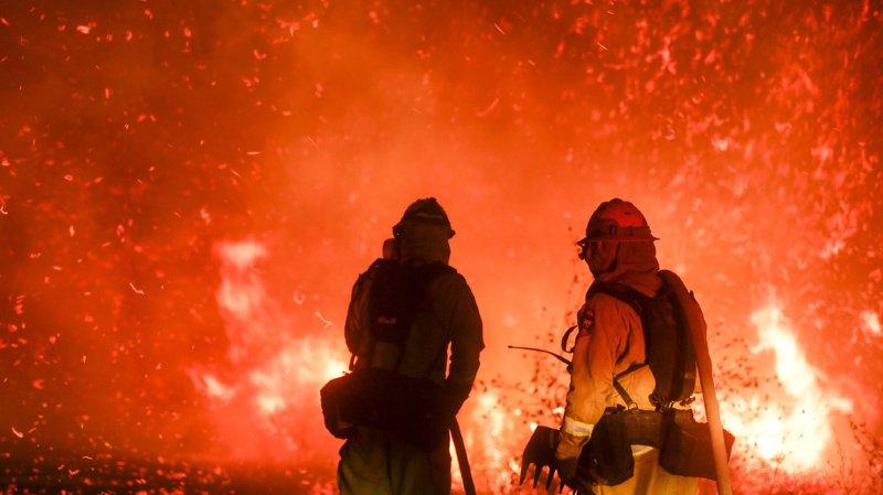 Une douzaine de feux sont actifs en Californie depuis plusieurs jours.