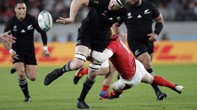 Le géant néo-zélandais Brodie Retallick a littéralement marché sur ses adversaires gallois.