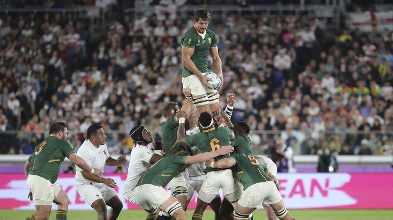 Rugby – Coupe du monde au Japon: 3e titre pour l'Afrique du Sud qui étouffe l'Angleterre en finale