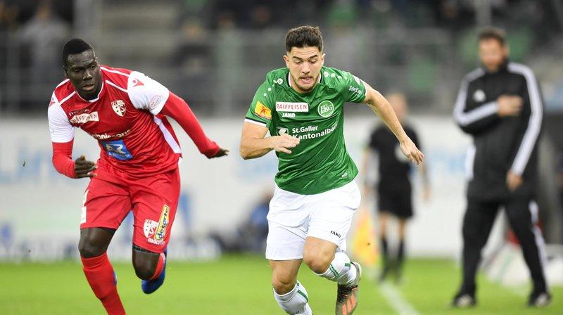Super League: Saint-Gall donne une leçon de football au FC Sion