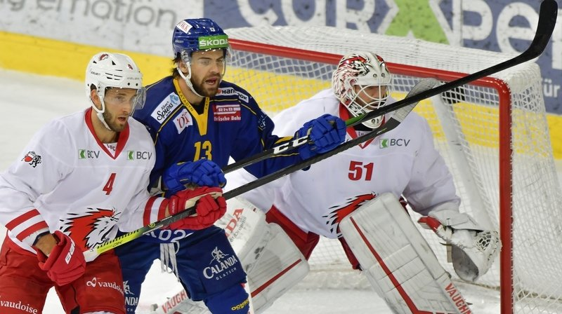 Luca Hischier ici face à Lausanne.