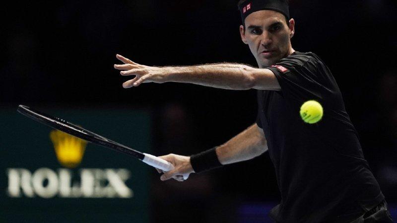 Très solide sur son service, Roger Federer a rapidement pris le dessus sur Djokovic.