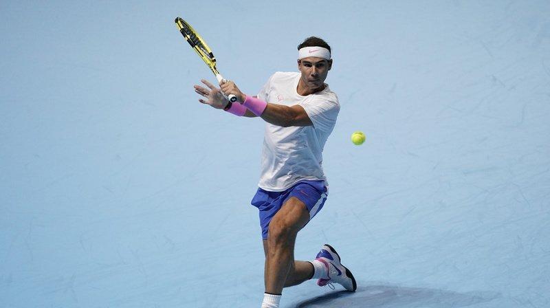 Rafael Nadal est allé chercher sa victoire face à Tsitsipas au filet.