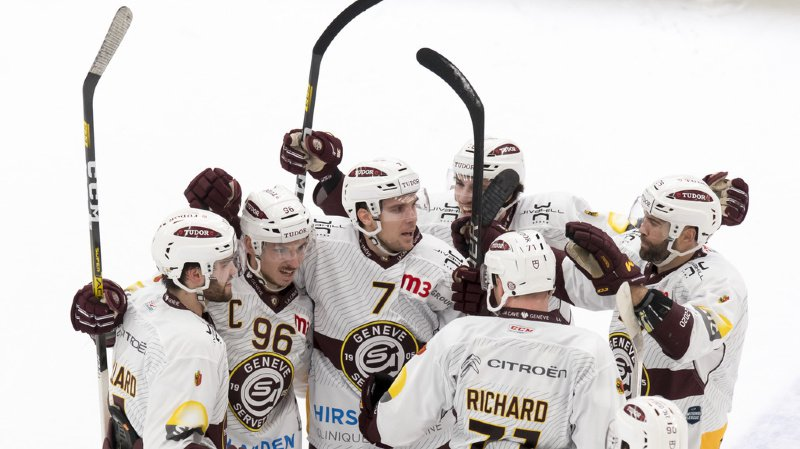 Hockey: le derby lémanique pour Genève, Fribourg atomise Berne