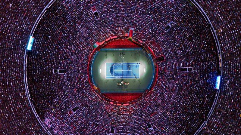 42 517 spectateurs... record du monde pour Roger Federer — Tennis