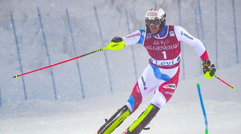 Ski alpin: Zenhäusern et Yule dans le coup après la première manche du slalom de Levi