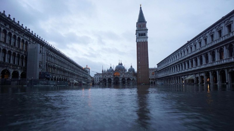 Intempéries en Italie: une femme décédée, Venise sous les eaux