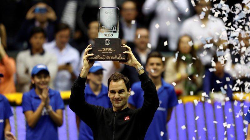 Tennis – Exhibition à Quito: une nouvelle victoire pour Roger Federer